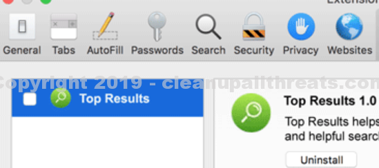 Research – How to Remove Top Results on Mac Safari