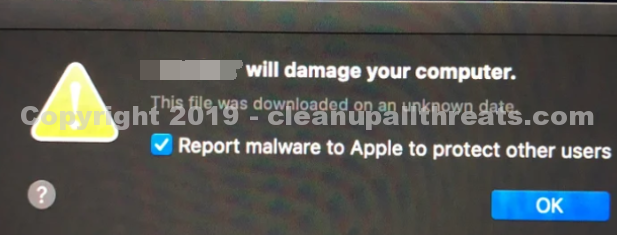 """""""Ciscod will damage your computer"""" Malware"""