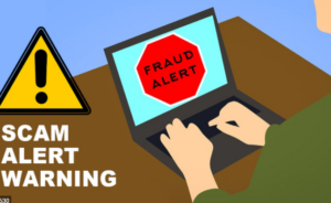 We have detected a potential risk of unsecured connection Mac Scam Pop-up