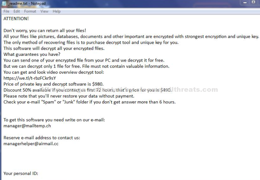 aeur Extension Ransomware