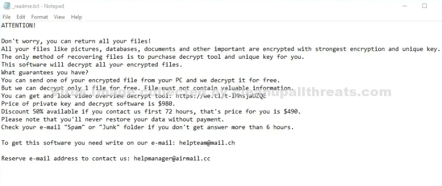 hhqa File Extension Virus